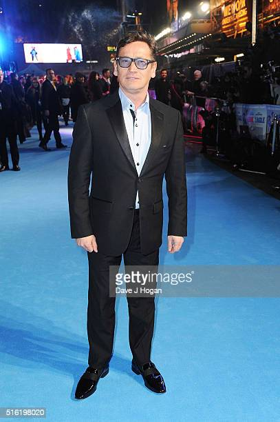 Sid Owen attends the European premiere of 'Eddie The Eagle' at Odeon Leicester Square on March 17 2016 in London England