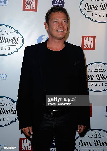 Sid Owen attends the Lova World Images Closing Party during the 66th Annual Cannes Film Festival at Baoli Beach on May 22 2013 in Cannes France