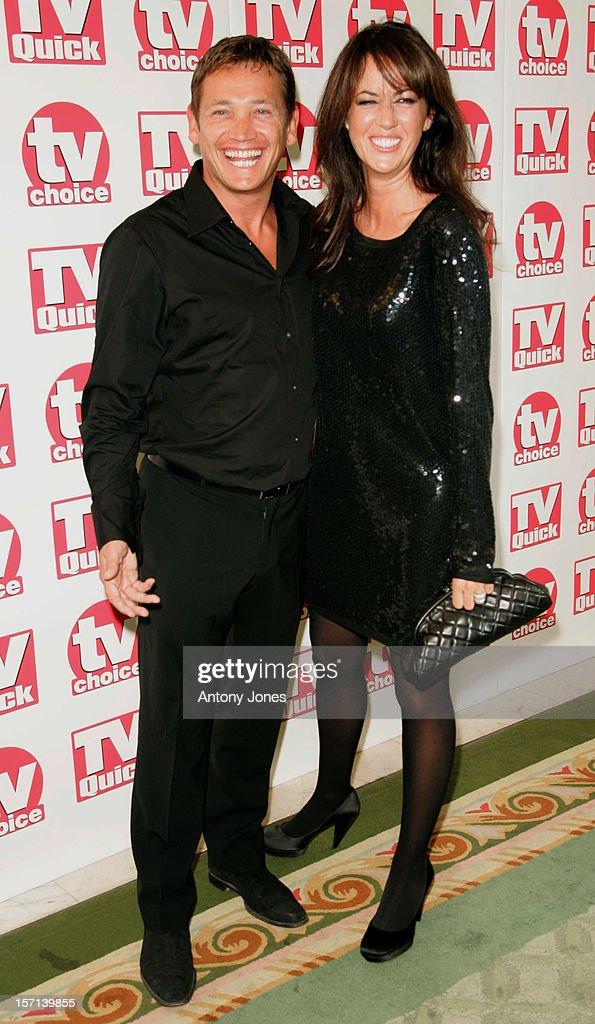 Tv Quick & Tv Choice Awards At The Dorchester : News Photo