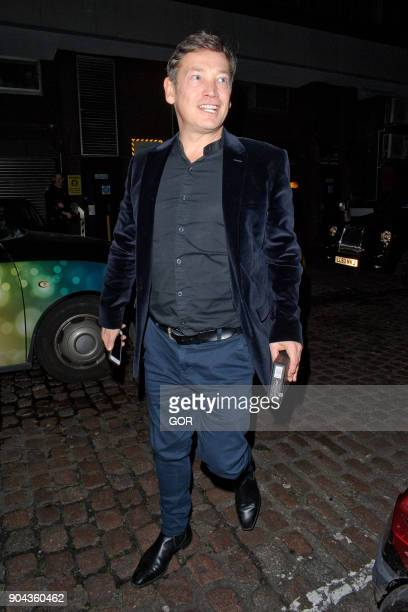 Sid Owen sighting at the Chiltern Firehouse on January 12 2018 in London England
