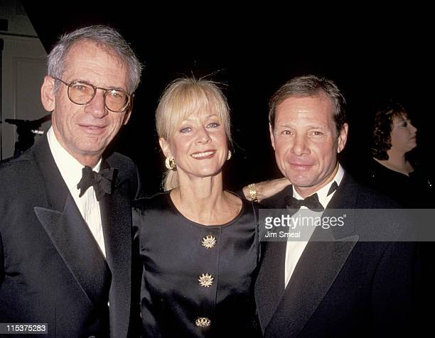 Sid Sheinberg Judy Ovitz and Michael Ovitz during Weizmann Institute Of Science Dinner Honors Steven Spielberg at Beverly Hilton Hotel in Beverly...