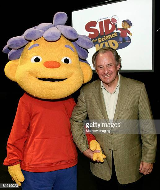 Sid the Science Kid and President and CEO KCET Al Jerome at the Sid The Science Kid TCA Event Hosted by PBS and The Jim Henson Company on Saturday...