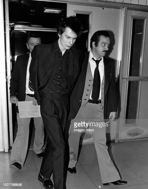 Sid Vicious Arrest for Spungen murder circa 1978 in New York