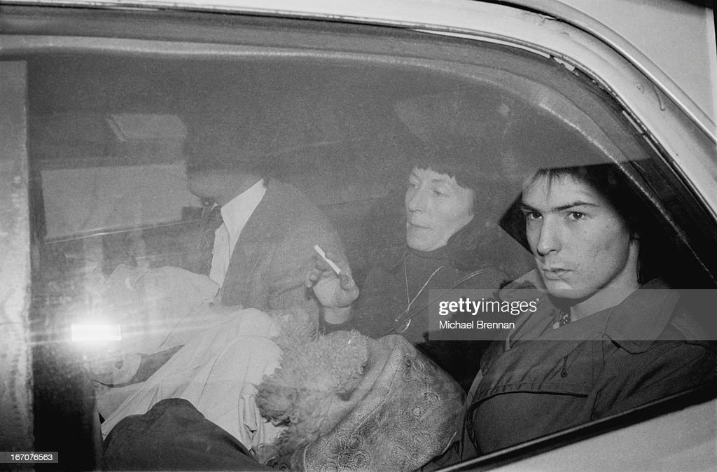 Sid Vicious (1957 – 1979) at Manhattan Criminal Court for the trial of the murder of Nancy Spungen, 18th October 1978.