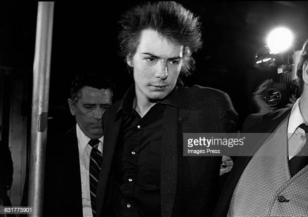 Sid Vicious under arrest circa 1978 in New York City