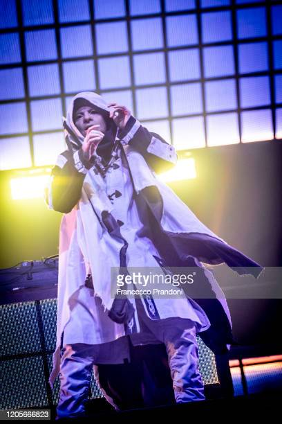 Sid Wilson of Slipknot performs on February 11 2020 in Milan Italy