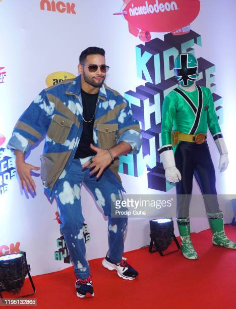 Siddhant Chaturvedi attends the Nickelodeon The Kids Choice Awards 2019 on December 202019 in Mumbai India