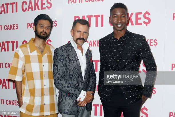 Siddharth Dhananjay Wass Stevens and Mamoudou Athie attend the New York premiere of Patti Cake$ at Metrograph on August 14 2017 in New York City