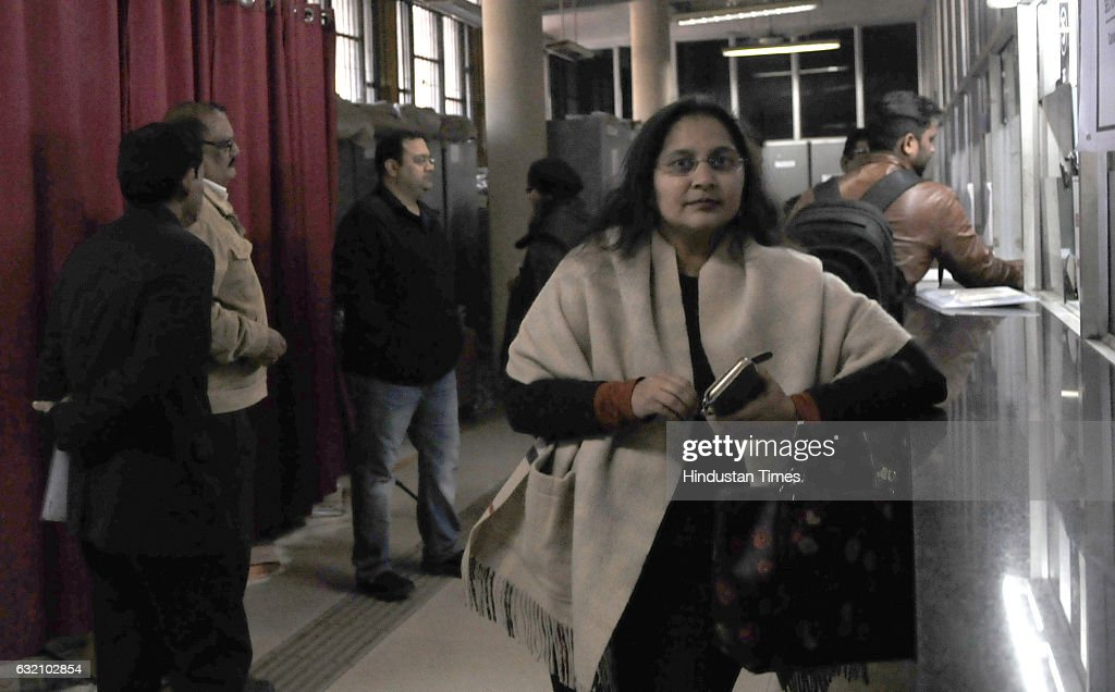 Siddharth Vashisht better known as Manu Sharma at DC office for his marriage registration on January 19 2017 in Chandigarh India Delhi High Court has.
