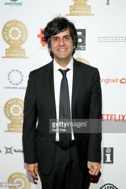 Siddhartha Khosla attends the 8th Annual Guild of Music Supervisors Awards at The Theatre at Ace Hotel on February 8 2018 in Los Angeles California