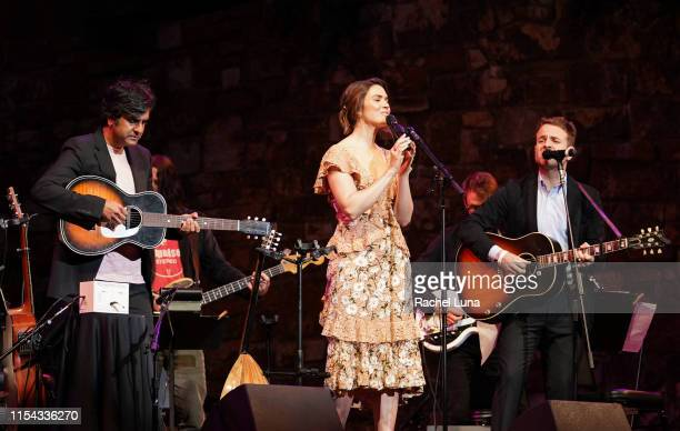 Siddhartha Khosla Mandy Moore and Taylor Goldsmith perform at 20th Century Fox Television and NBC Present This Is Us FYC Event at John Anson Ford...