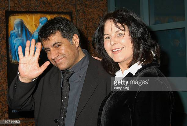 Siddiq Barmak and Mavis Leno during A Special Screening of Osama by United Artists Hosted by Mavis Leno at Museum of Tolerance in West Los Angeles...