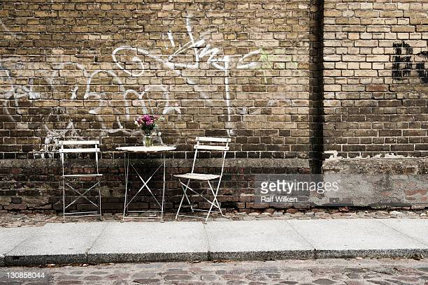 Side alley in Stralsund, Mecklenburg-Western Pomerania, Germany, Europe