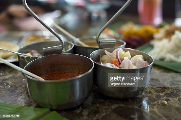 Side dish and sauce for banana leaf