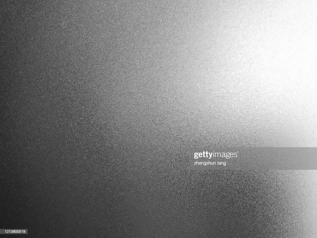 Side Lit Matte Metallic Texture : Stock Photo