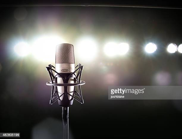 side mic - stage performance space stock pictures, royalty-free photos & images