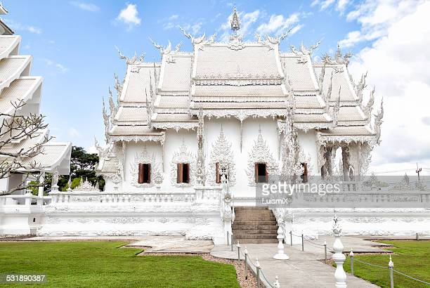 Side of the temple Wat Rong Khun