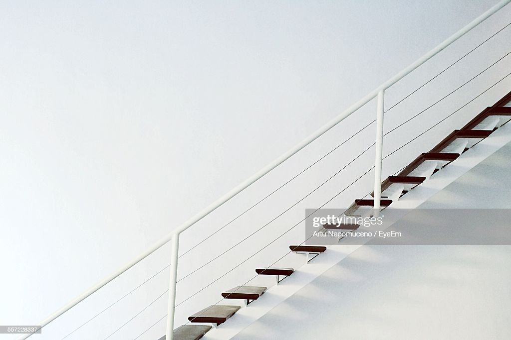 Side Profile Of Staircase : Stock Photo