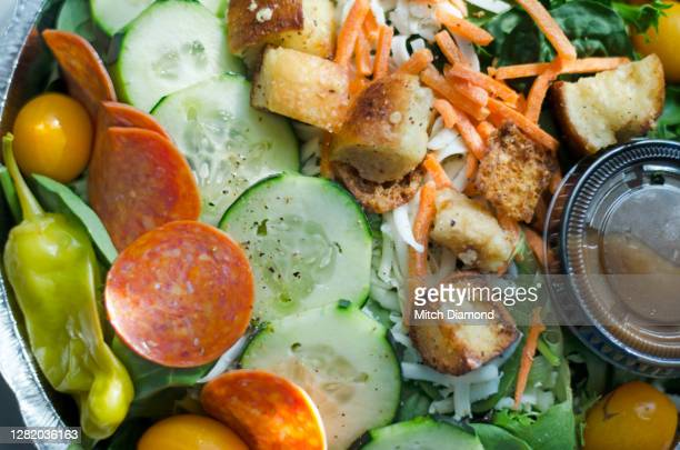 side salad - side salad stock pictures, royalty-free photos & images