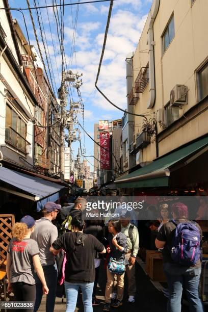 Side Street of Tsukiji Fish Market