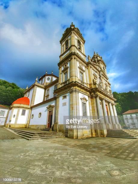 Side View of Bom Jesus Church