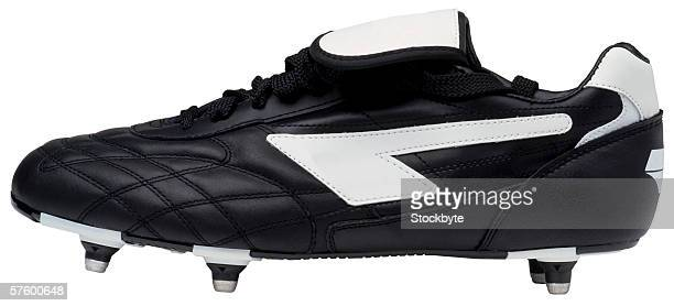 side view of football boots