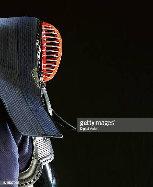 Side View of Japanese Kendo Armour