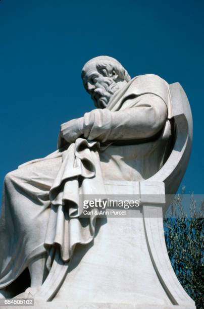side view of plato by drosos - philosopher stock pictures, royalty-free photos & images