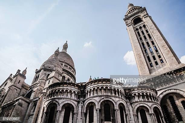 Side view of the Basilique du Sacre Coeur, Paris