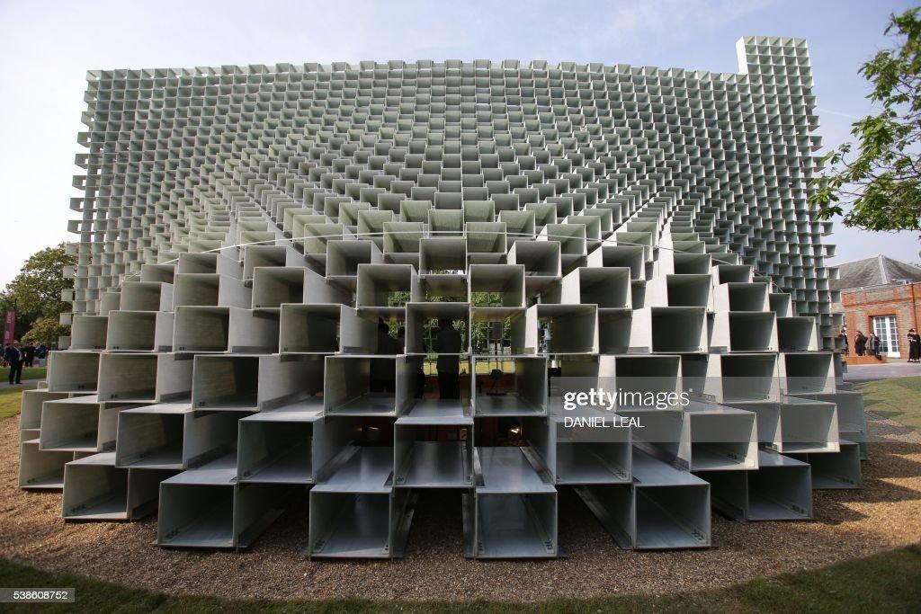 BRITAIN-ARCHITECTURE-DENMARK-PAVILION : Fotografía de noticias