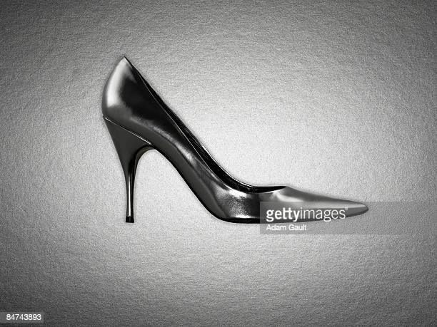 Side view of womens shoe