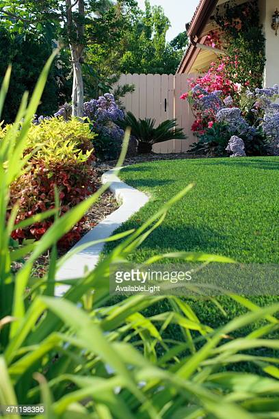 Side Yard Strip with Artificial Turf