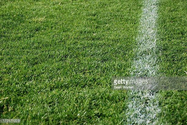 sideline (upclose) - end zone stock pictures, royalty-free photos & images
