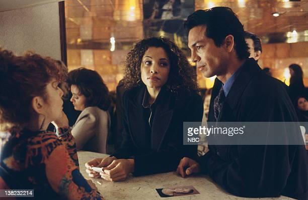 LAW ORDER Sideshow Episode 14 Air Date Pictured Amy Stiller as Bartender Michael Michele as Det Rene Sheppard Benjamin Bratt as Detective Rey Curtis
