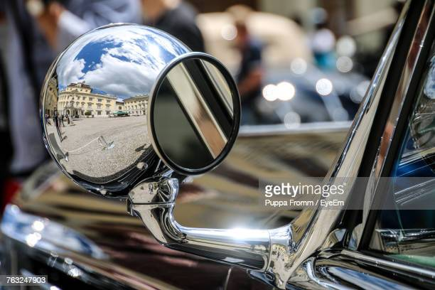 Side-View Mirror Of Car