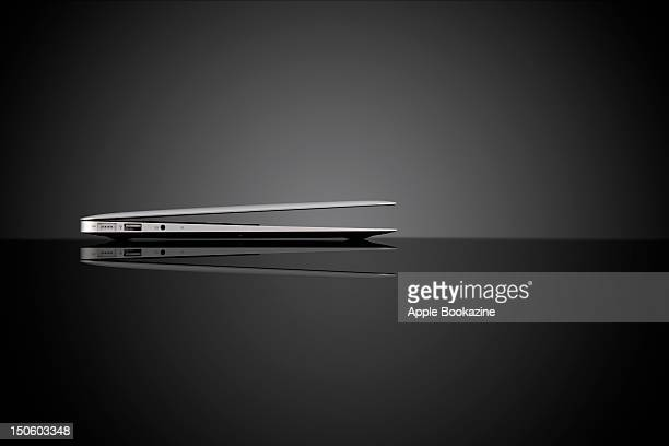 Sideview of an Apple MacBook Air session for Apple Bookazine taken on September 5 2011