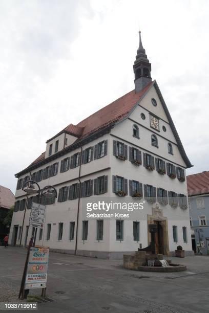 Sideview on the Old City Hall of Bad Cannstatt, Stuttgart, Germany