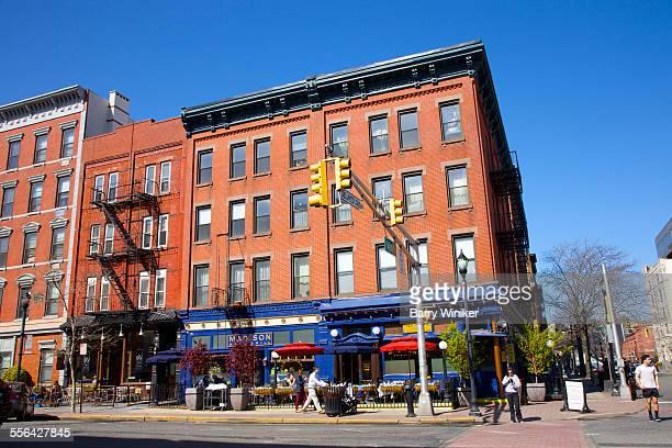 Sidewalk cafes, Hoboken