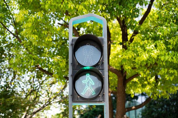 Sidewalk green light