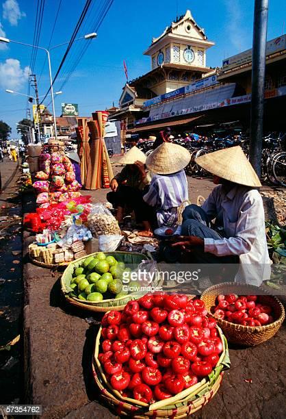 Sidewalk market, Chinatown, Ho Chi Minh City (formerly Saigon) Vietnam