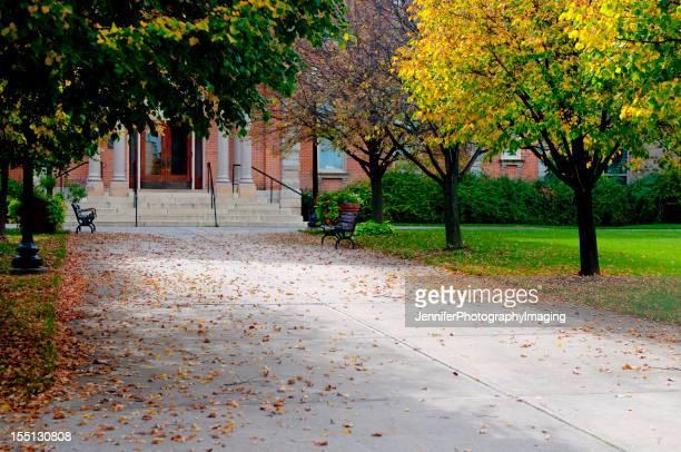 サイドウォークで、秋の日