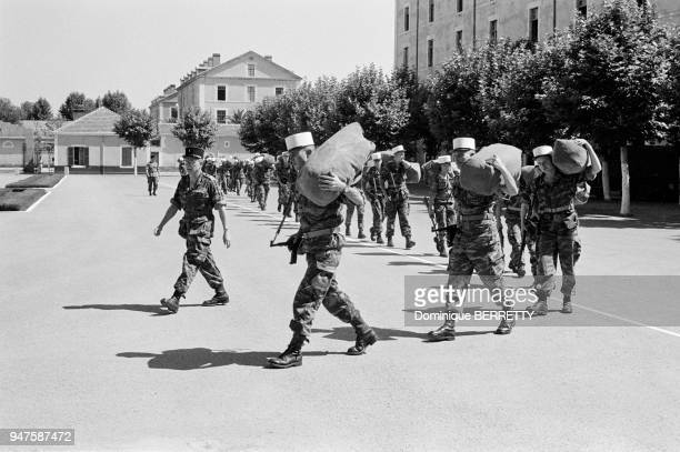 Last Moments of the French Foreign Legion in Sidi Bel Abbes le quartier Vinot in 1962
