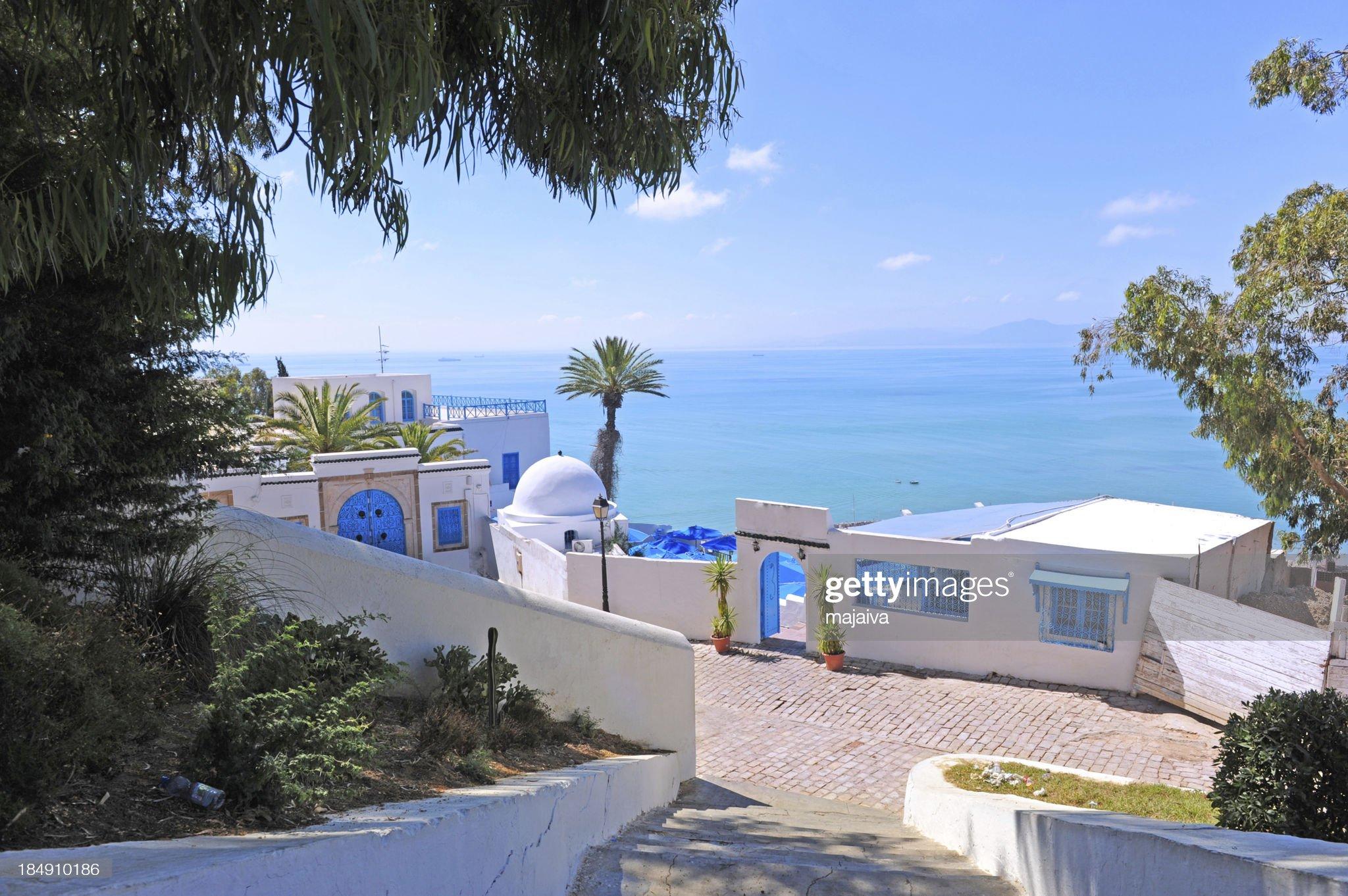 Sidi Bou Said : Foto stock