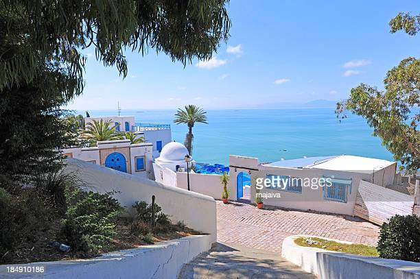 sidi bou said - tunis stock pictures, royalty-free photos & images