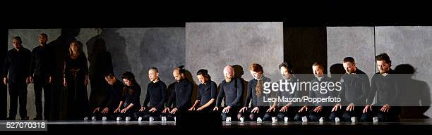 Sidi Larbi Cherkaoui's Puz/zle performed by the Eastman Company at Sadlers Wells Theatre London UK