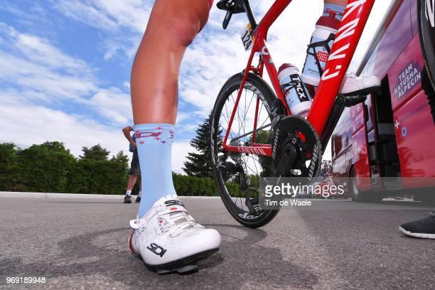 Sidi Shoes / Canyon Bike / Robert Kiserlovski of Croatia and Team Katusha Alpecin / during the 70th Criterium du Dauphine 2018 Stage 4 a 181km stage...