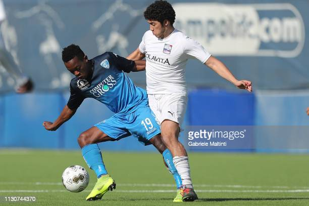 Sidibe of Empoli FC U19 in action during the Viareggio Cup 2019 match between Empoli FC U19 and UYSS New York U19 on March 15 2019 in Empoli Italy