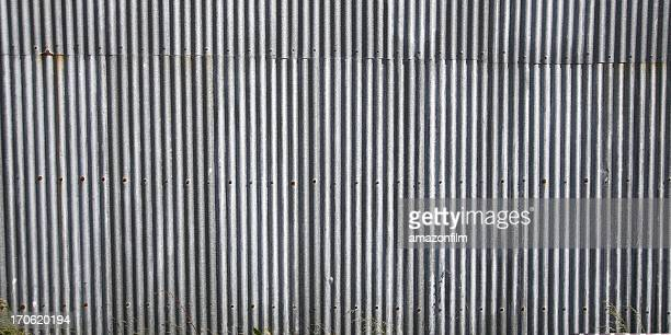 siding plates, corrugated - corrugated iron stock photos and pictures