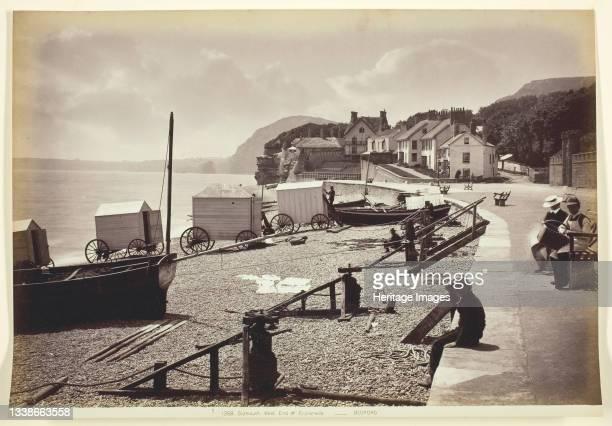 Sidmouth, West of Esplanade, 1860/94. Albumen print. Artist Francis Bedford.