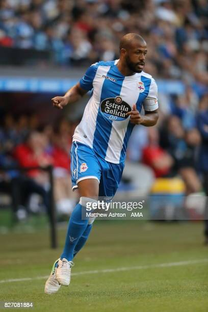 Sidnei of Deportivo de La Coruna during the PreSeason Friendly between Deportivo de La Coruna and West Bromwich Albion on August 5 2017 in La Coruna...